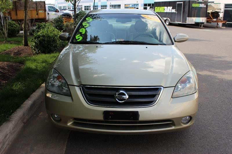 2002 Nissan Altima For Sale At AMERICAN AUTO GROUP In Chantilly VA