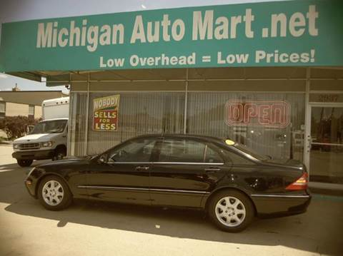 2000 Mercedes-Benz S-Class for sale at Michigan Auto Mart in Port Huron MI