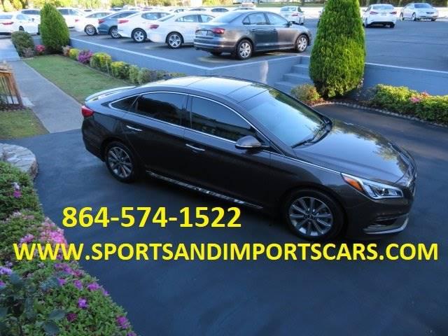 2016 Hyundai Sonata Limited 4dr Sedan Pzev In Spartanburg