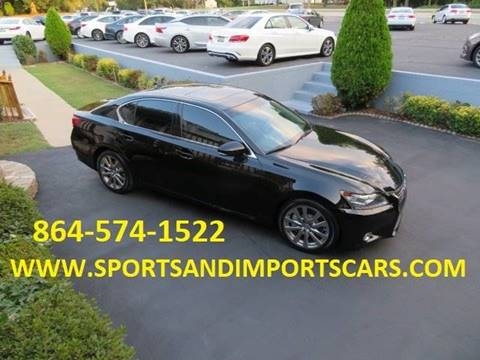 2015 Lexus GS 350 for sale in Spartanburg, SC