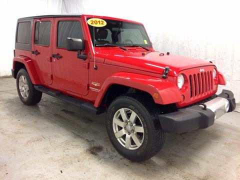 2012 Jeep Wrangler Unlimited for sale in Grand Rapids, MI
