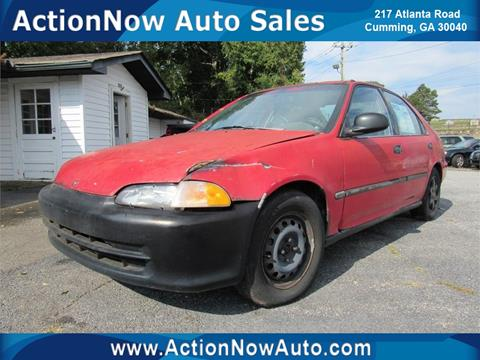 1995 Honda Civic for sale in Cumming, GA