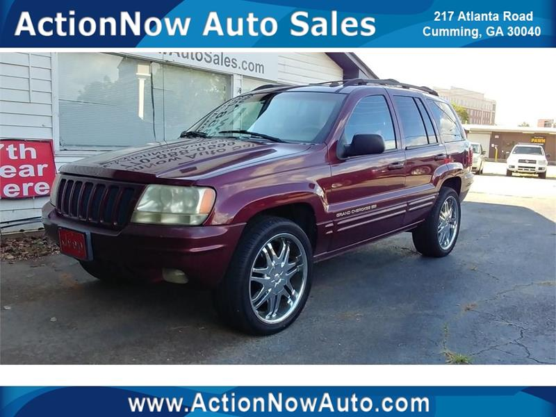 1999 Jeep Grand Cherokee For Sale At ACTION NOW AUTO SALES In Cumming GA