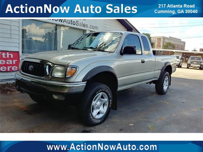 2002 Toyota Tacoma For Sale At ACTION NOW AUTO SALES In Cumming GA