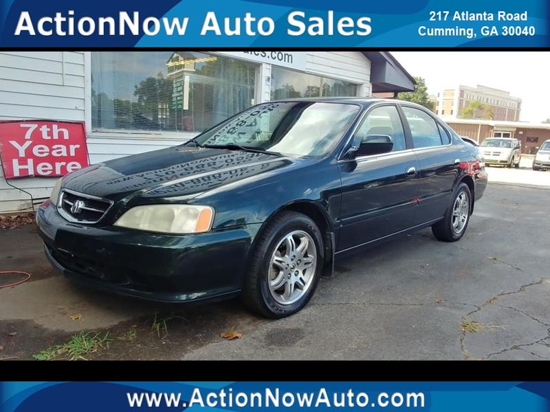 Acura TL In CUMMING GA ACTION NOW AUTO SALES - 2001 acura tl for sale