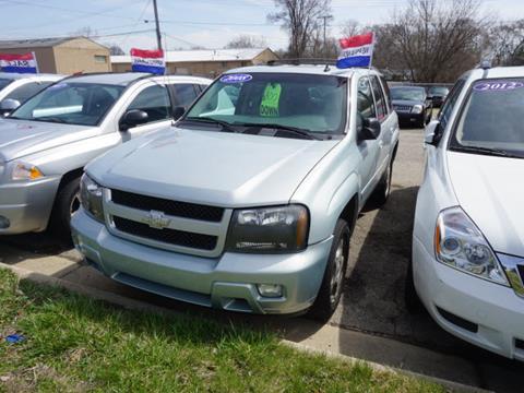 2008 Chevrolet TrailBlazer for sale at Pars Auto Sales Inc in Ypsilanti MI