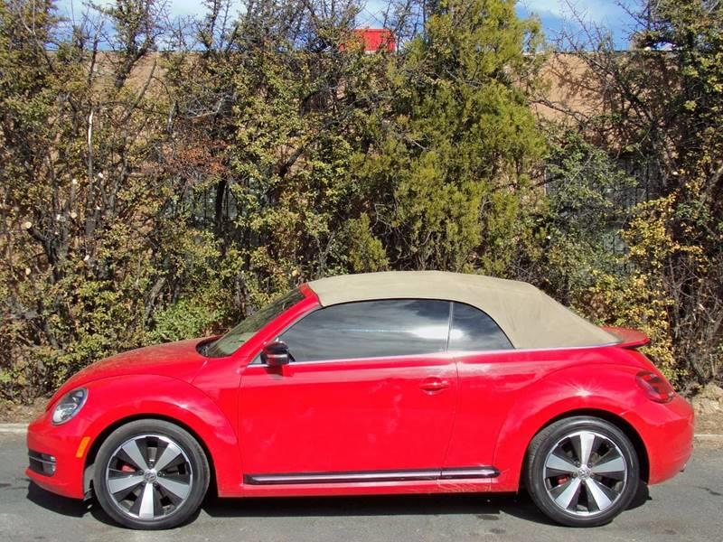 2013 Volkswagen Beetle Turbo PZEV 2dr Convertible 6A w/Sound and Navigation (ends 1/13) - Sante Fe NM