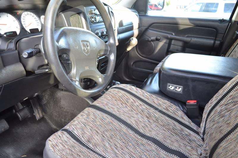 2003 Dodge Ram Pickup 2500 4dr Quad Cab ST 4WD SB - Sante Fe NM