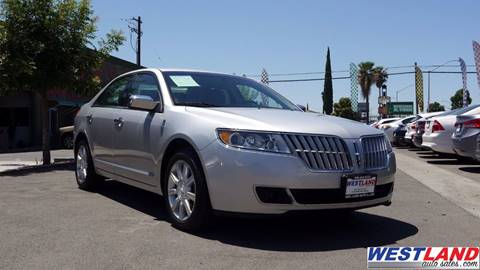 2012 Lincoln MKZ for sale in Fresno, CA