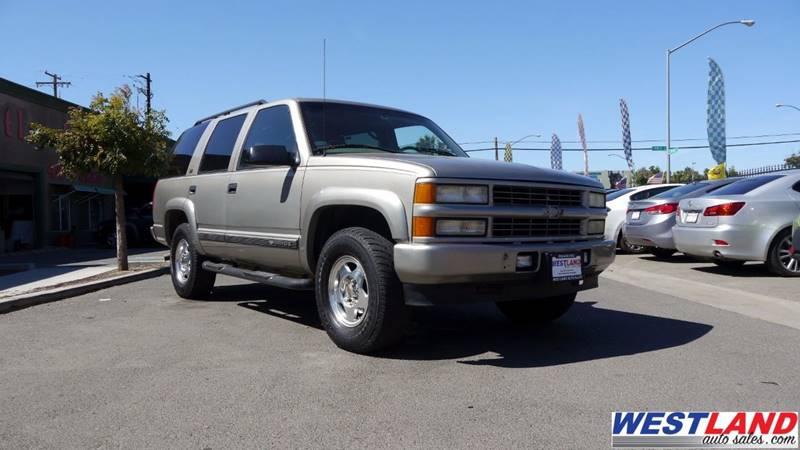 2000 Chevrolet Tahoe LimitedZ71 4dr Z71 4WD SUV In FRESNO CA