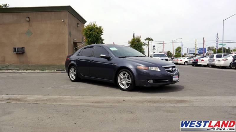 Acura TL WNavi In FRESNO CA WESTLAND AUTO SALES - 2007 acura tl for sale