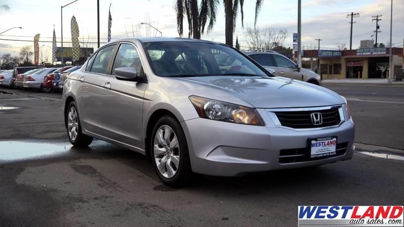 2008 Honda Accord For Sale >> 2008 Honda Accord Ex In Fresno Ca Westland Auto Sales