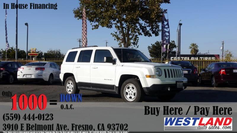 2015 Jeep Patriot for sale at Westland Auto Sales in Fresno CA