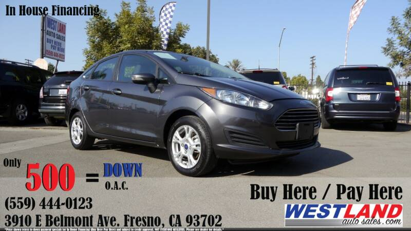 2015 Ford Fiesta for sale at Westland Auto Sales in Fresno CA