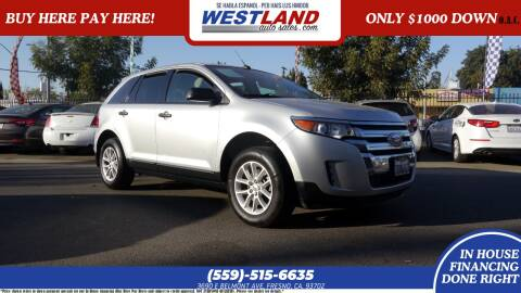 2013 Ford Edge for sale at Westland Auto Sales on 7th in Fresno CA
