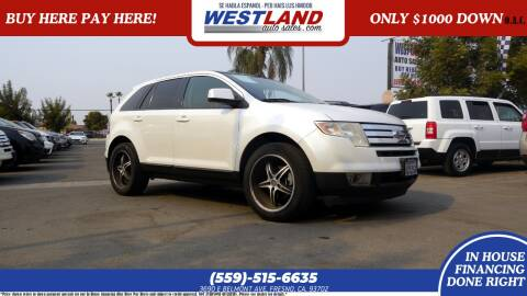 2010 Ford Edge for sale at Westland Auto Sales on 7th in Fresno CA