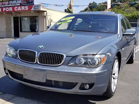 2007 BMW 7 Series for sale in San Diego, CA