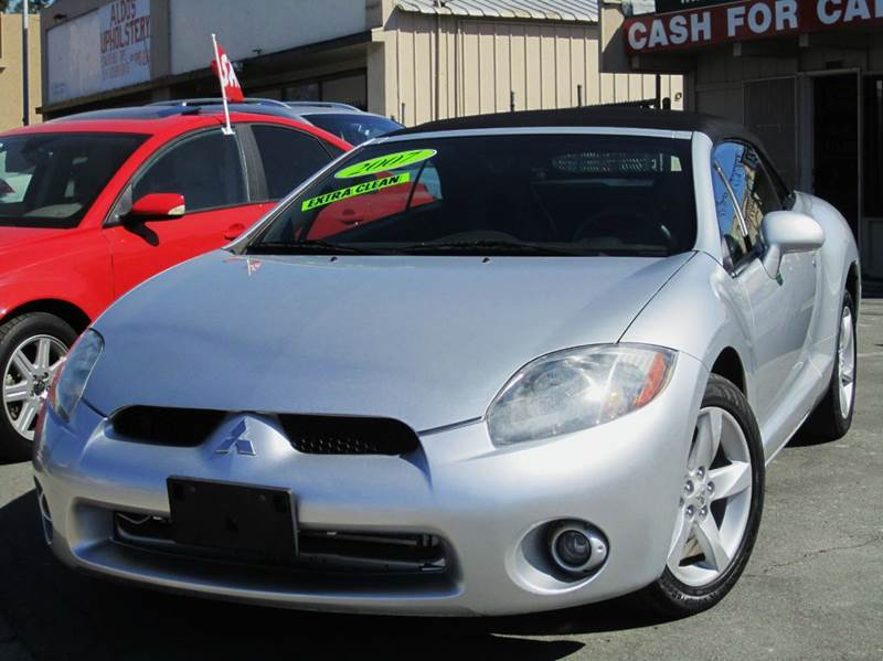 2007 Mitsubishi Eclipse Spyder Gs 2dr Convertible 24l I4 4a In