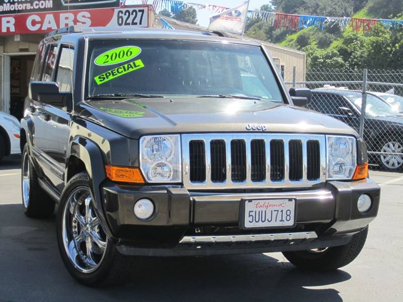 2006 Jeep Commander 4dr Suv 4wd In San Diego Ca Speed One Motors
