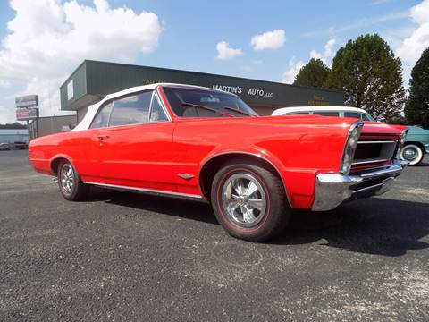 1965 Pontiac GTO for sale at Martin's Auto in London KY