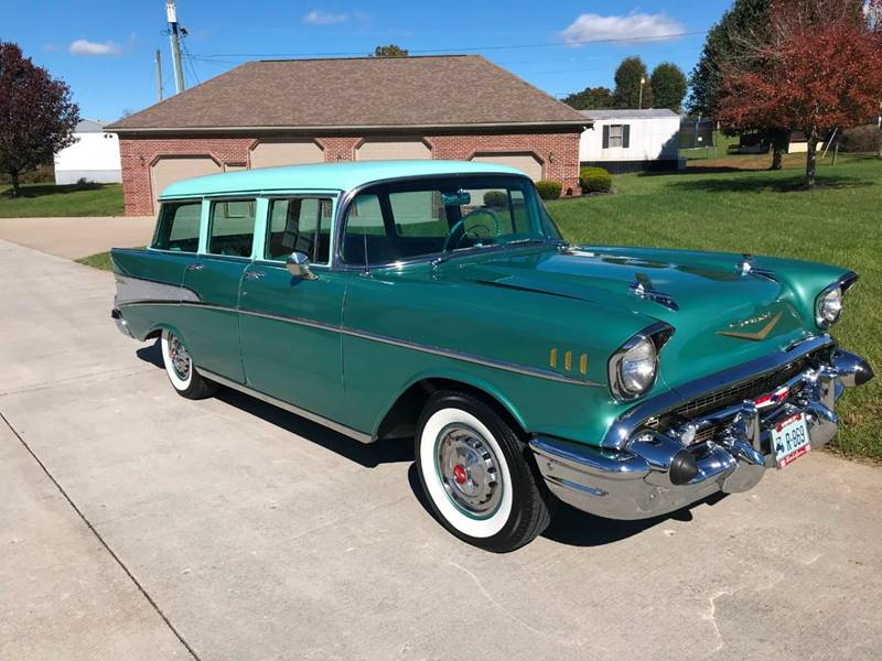 1957 Chevrolet Bel Air Wagon In London Ky Martin S Auto