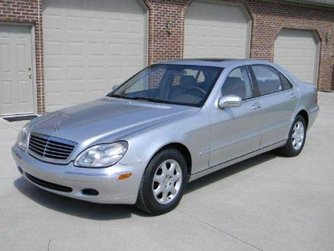 2001 Mercedes-Benz S-Class for sale at Martin's Auto in London KY