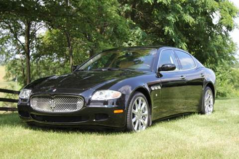 2008 Maserati Quattroporte for sale at Martin's Auto in London KY