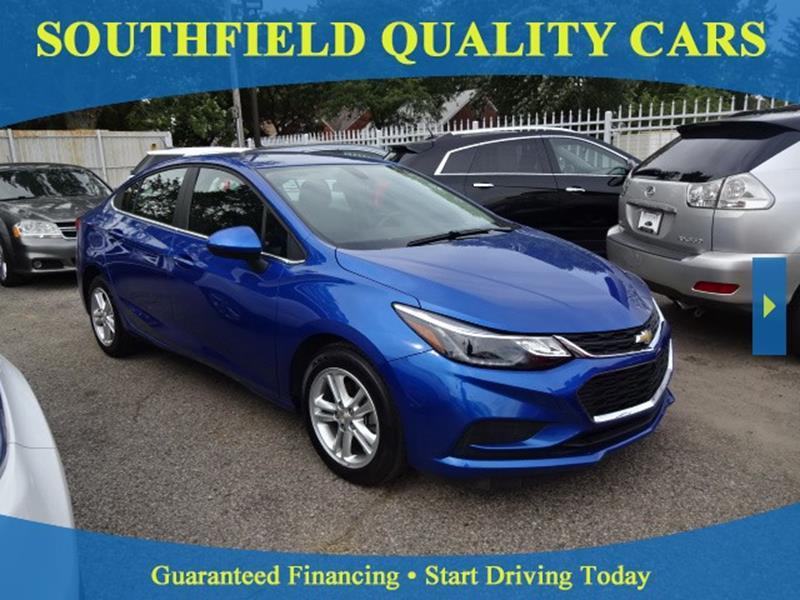 2016 Chevrolet Cruze LT Auto In Detroit MI - SOUTHFIELD QUALITY CARS