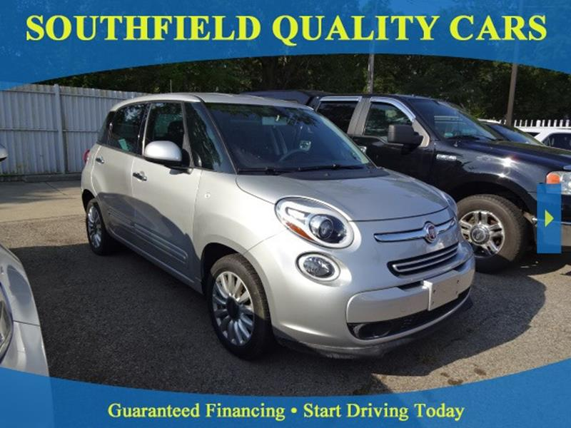 FIAT L Easy In Detroit MI SOUTHFIELD QUALITY CARS - Fiat dealership michigan