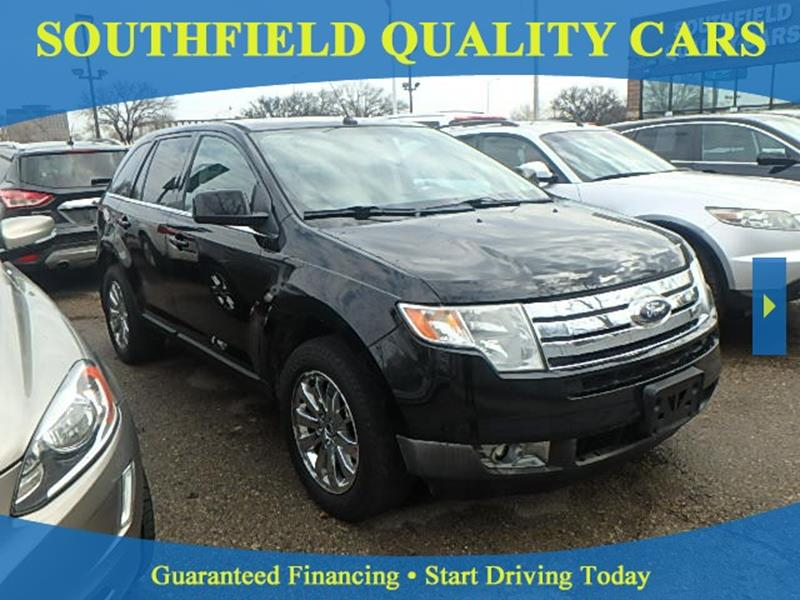 Ford Edge For Sale At Southfield Quality Cars In Detroit Mi
