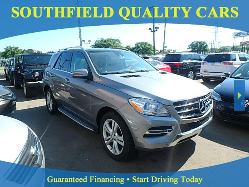 SOUTHFIELD QUALITY CARS - Bad Credit Car Loans - Detroit MI Dealer