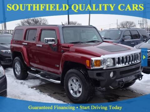 2010 HUMMER H3 for sale at SOUTHFIELD QUALITY CARS in Detroit MI