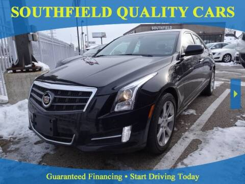 2013 Cadillac ATS for sale at SOUTHFIELD QUALITY CARS in Detroit MI