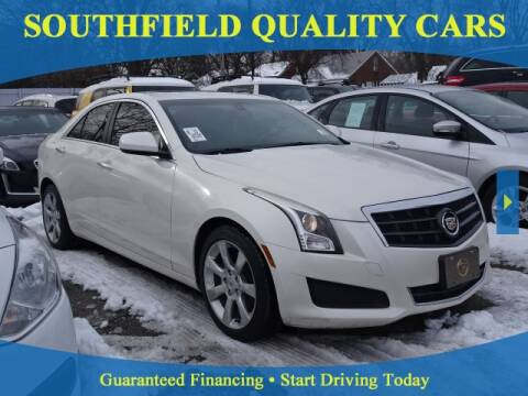 2014 Cadillac ATS for sale at SOUTHFIELD QUALITY CARS in Detroit MI