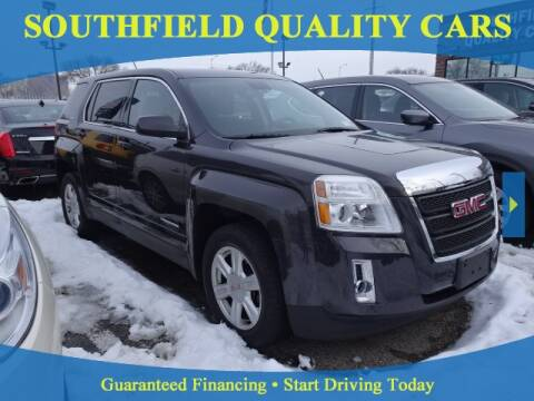 2014 GMC Terrain for sale at SOUTHFIELD QUALITY CARS in Detroit MI