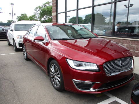 2018 Lincoln MKZ for sale at SOUTHFIELD QUALITY CARS in Detroit MI