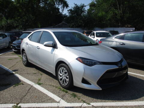 2019 Toyota Corolla for sale at SOUTHFIELD QUALITY CARS in Detroit MI
