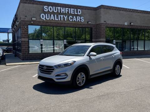 2018 Hyundai Tucson for sale at SOUTHFIELD QUALITY CARS in Detroit MI