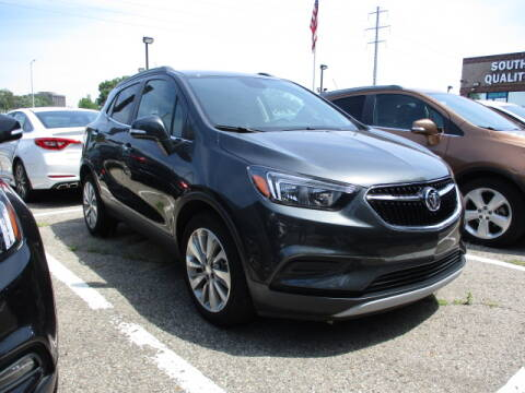 2017 Buick Encore for sale at SOUTHFIELD QUALITY CARS in Detroit MI