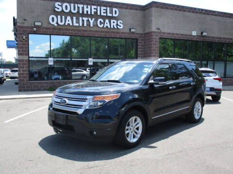 2014 Ford Explorer for sale at SOUTHFIELD QUALITY CARS in Detroit MI