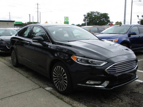 2017 Ford Fusion for sale at SOUTHFIELD QUALITY CARS in Detroit MI