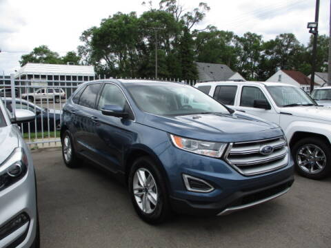 2018 Ford Edge for sale at SOUTHFIELD QUALITY CARS in Detroit MI