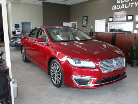 2017 Lincoln MKZ for sale at SOUTHFIELD QUALITY CARS in Detroit MI