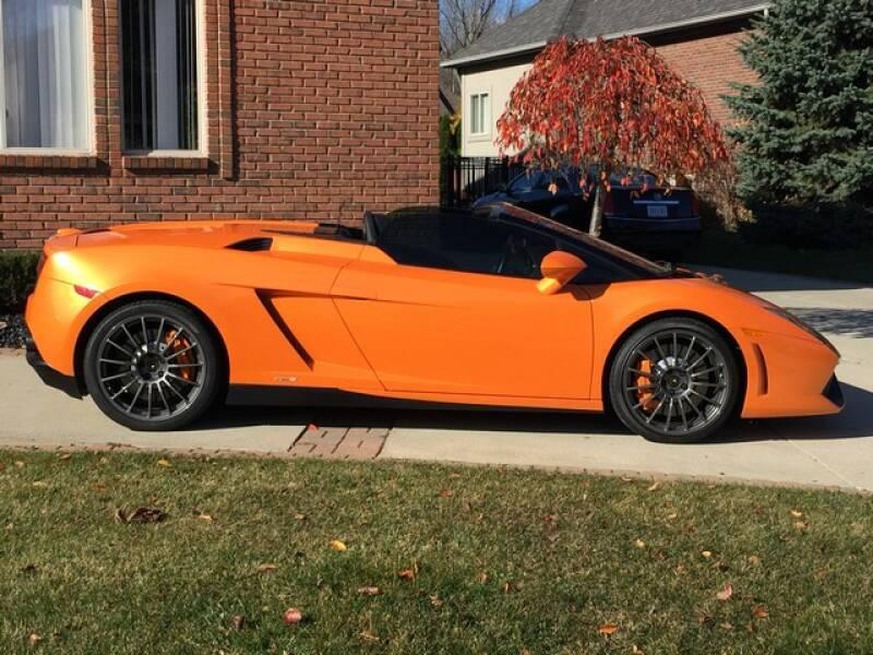 2012 Lamborghini Gallardo for sale at SOUTHFIELD QUALITY CARS in Detroit MI