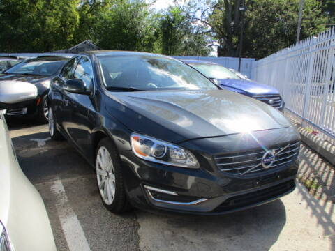 2015 Volvo S60 for sale at SOUTHFIELD QUALITY CARS in Detroit MI
