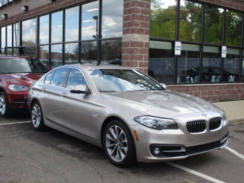 2016 BMW 5 Series for sale at SOUTHFIELD QUALITY CARS in Detroit MI