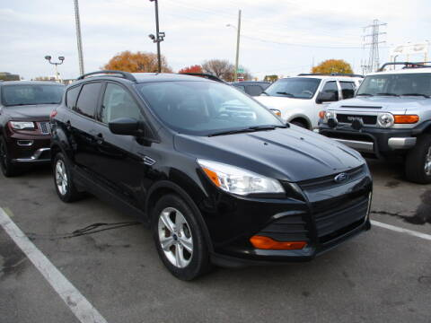 2015 Ford Escape for sale at SOUTHFIELD QUALITY CARS in Detroit MI