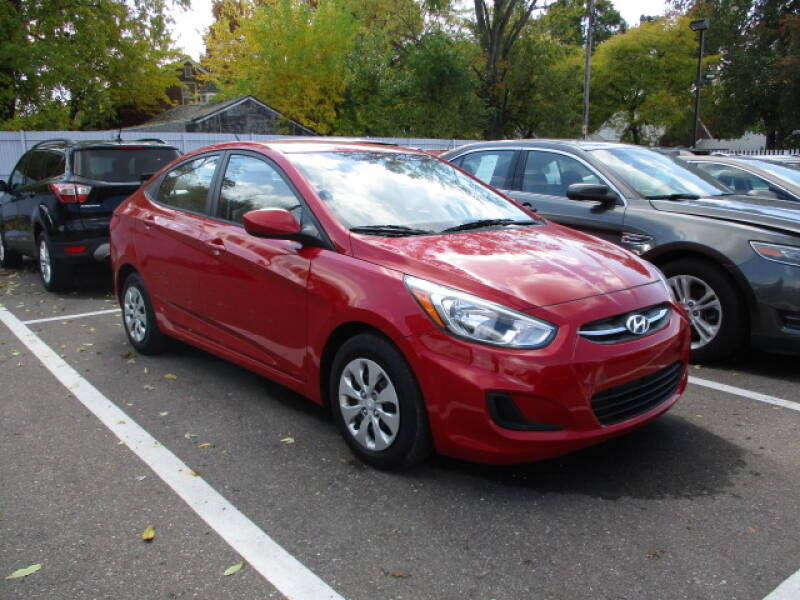 2016 Hyundai Accent for sale at SOUTHFIELD QUALITY CARS in Detroit MI