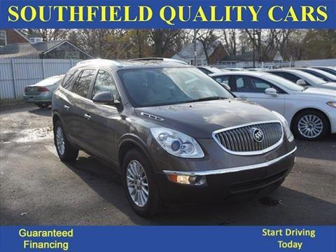 2012 Buick Enclave for sale at SOUTHFIELD QUALITY CARS in Detroit MI