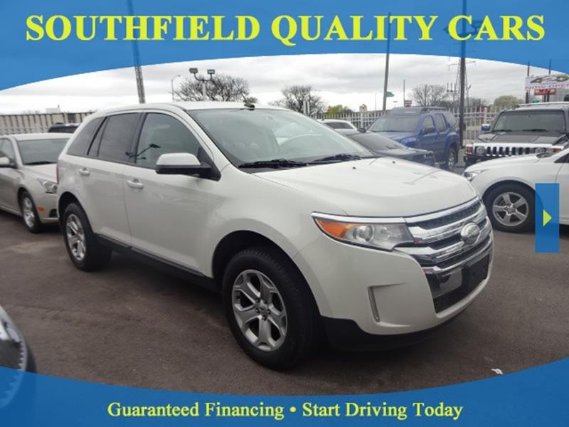 2013 Ford Edge In Detroit MI - SOUTHFIELD QUALITY CARS